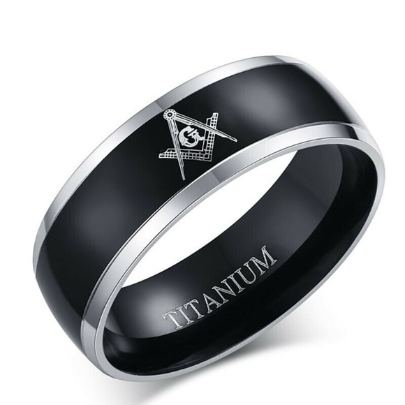 Other - Stainless Steel Titanium Band Ring